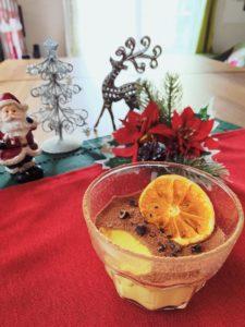 オレンジショコラムースカップ