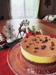 オレンジショコラムースケーキ