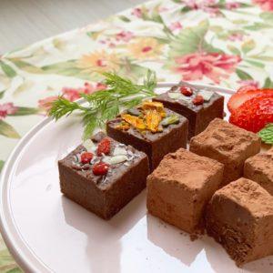 生チョコ,ひと口サイズ